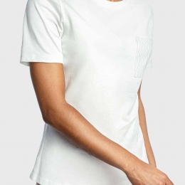 DW Soft Ribbed S/S Top
