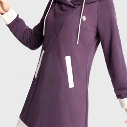 DW French Terry Hoodie Dress